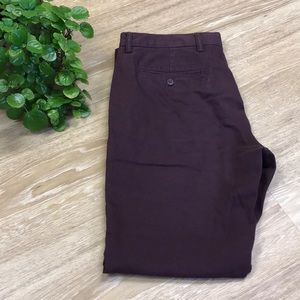 Plum Dress Pants